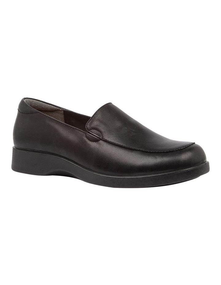 Nature2 Black Flat Shoes image 2