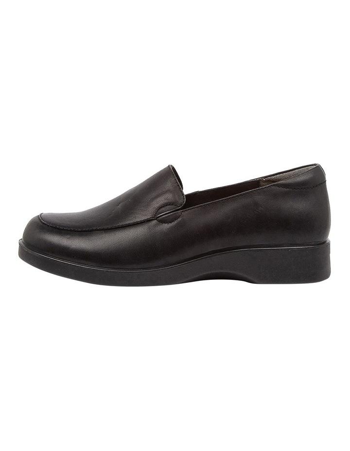Nature2 Black Flat Shoes image 3