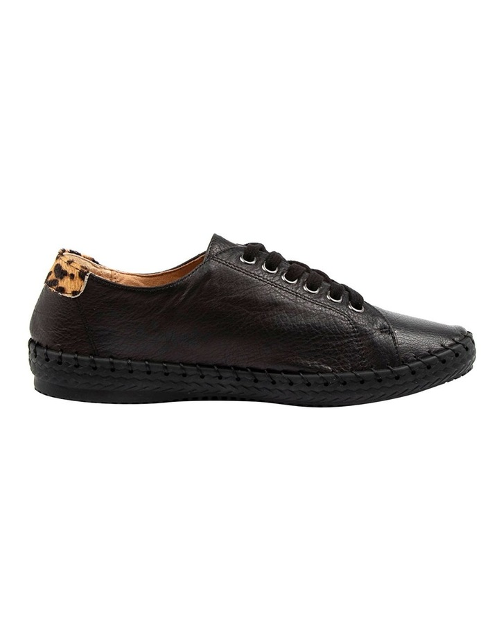 Willma Black Leather Sneaker image 1