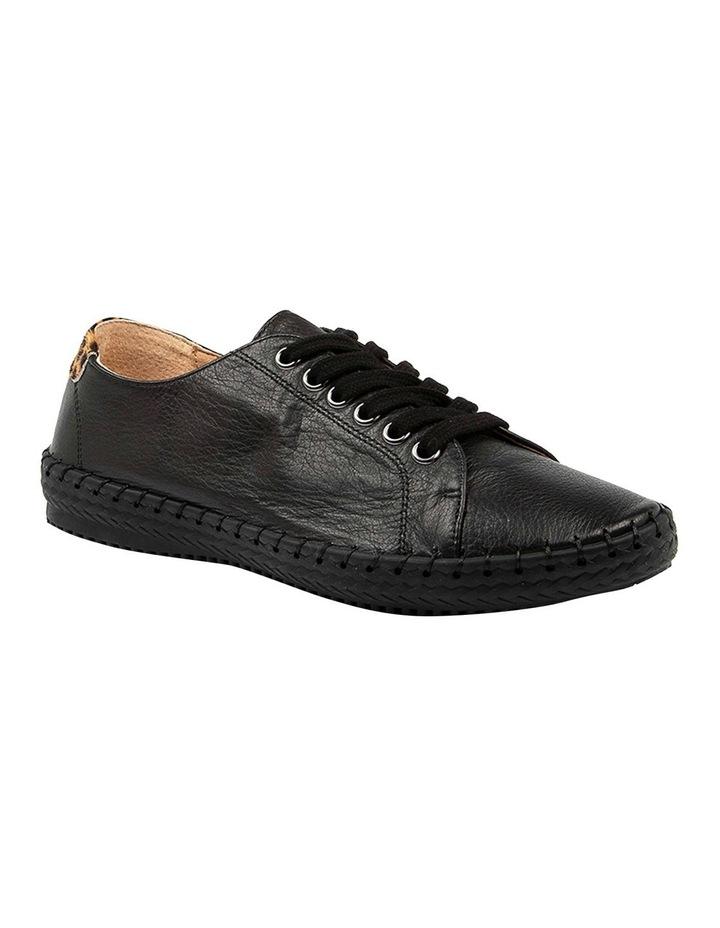 Willma Black Leather Sneaker image 2