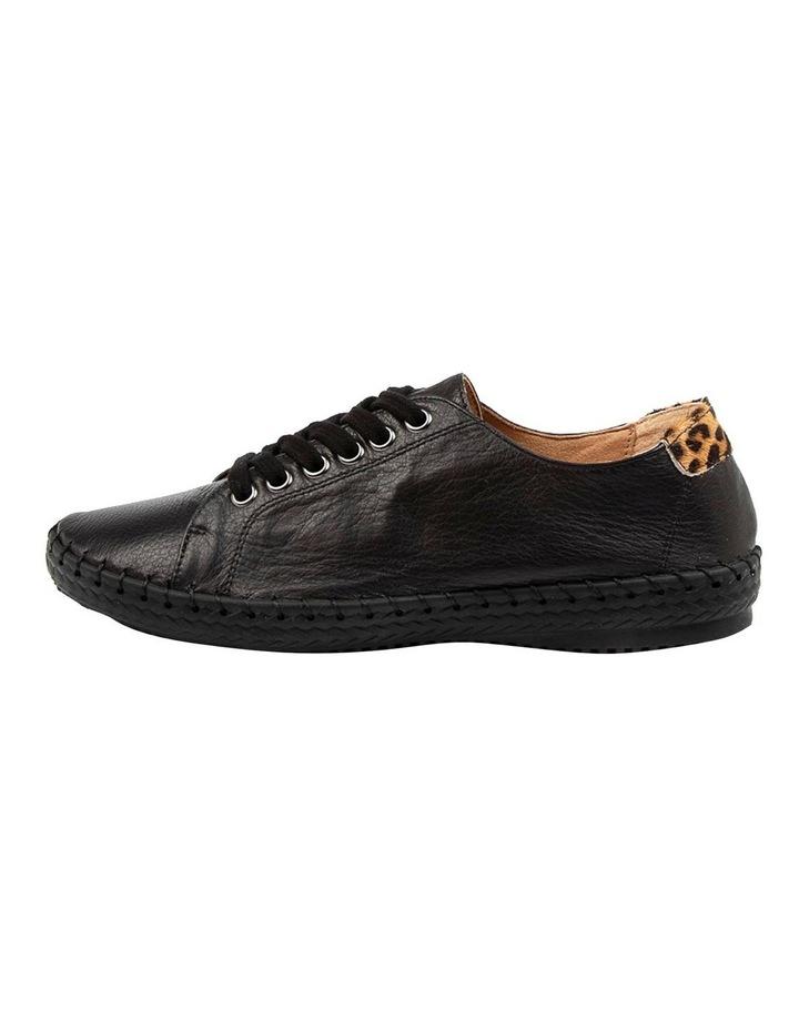 Willma Black Leather Sneaker image 3