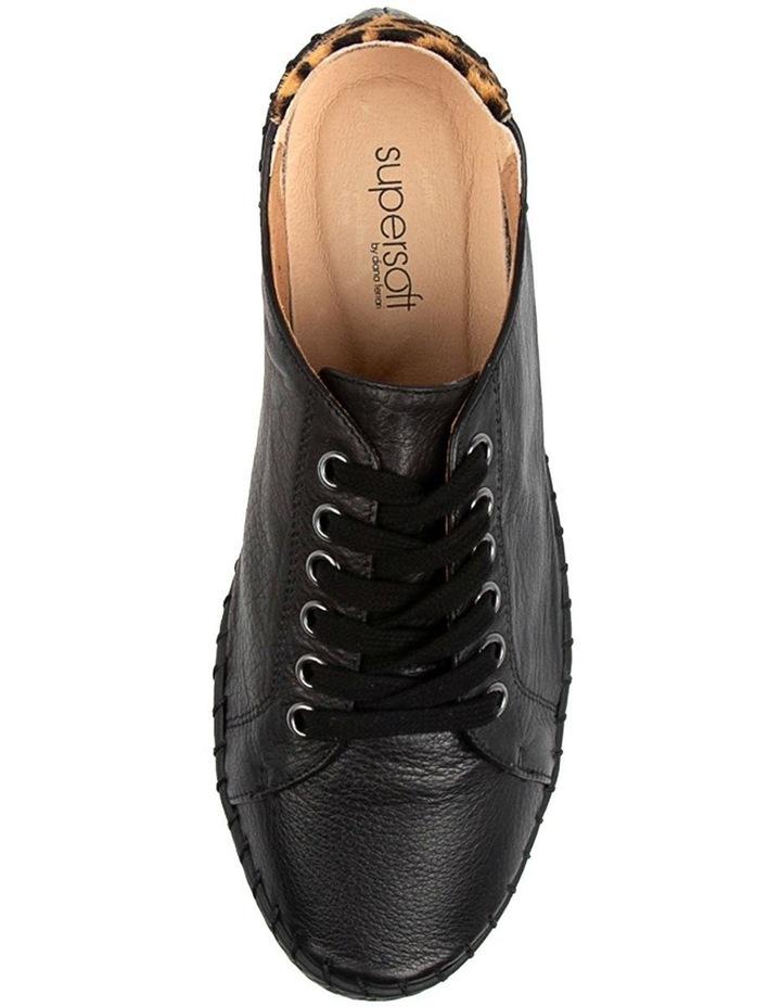 Willma Black Leather Sneaker image 4
