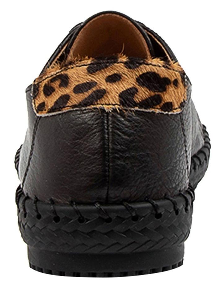 Willma Black Leather Sneaker image 5