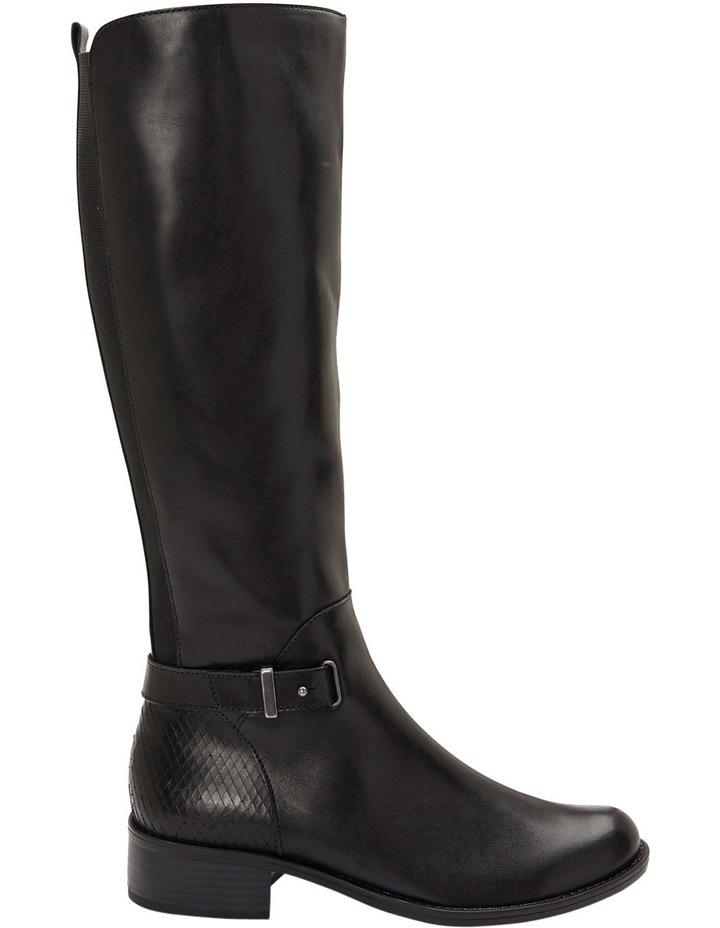 Austin Black Glove Knee boot image 1