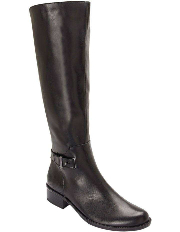 Austin Black Glove Knee boot image 3