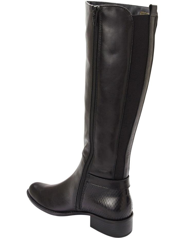 Austin Black Glove Knee boot image 4