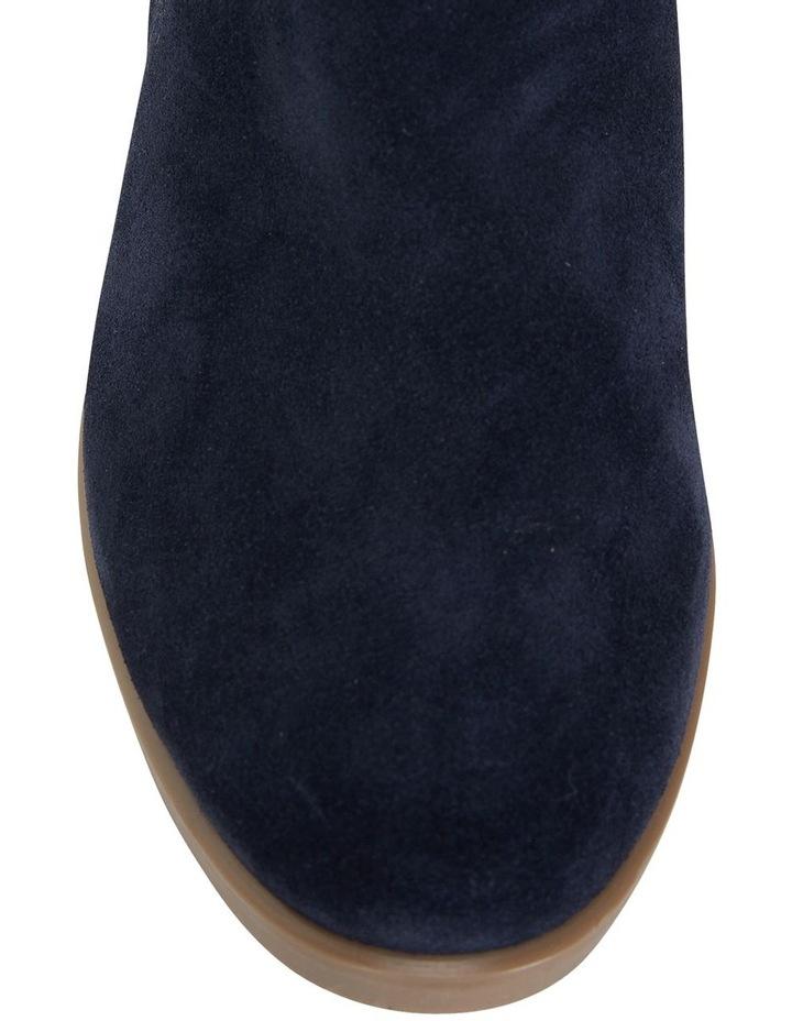 Tenor Navy Suede Boot image 7