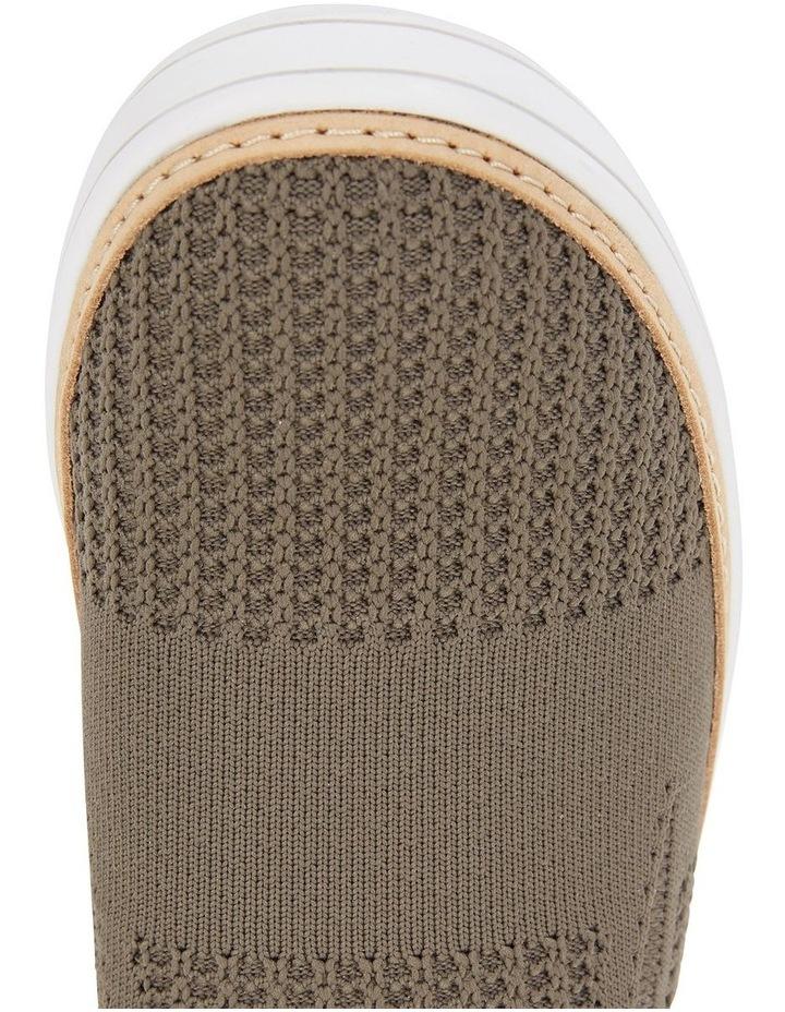 Onyx Khaki Fabric Sneaker image 5