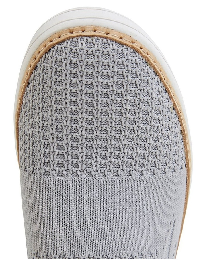 Onyx Grey Fabric Sneaker image 7