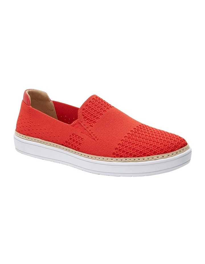 Onyx 2 Red Fabric Sneaker image 2