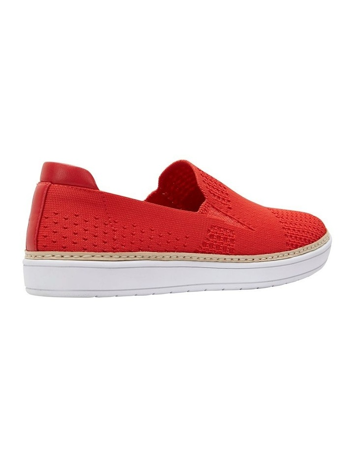 Onyx 2 Red Fabric Sneaker image 4