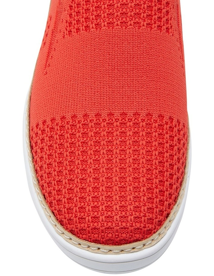 Onyx 2 Red Fabric Sneaker image 5