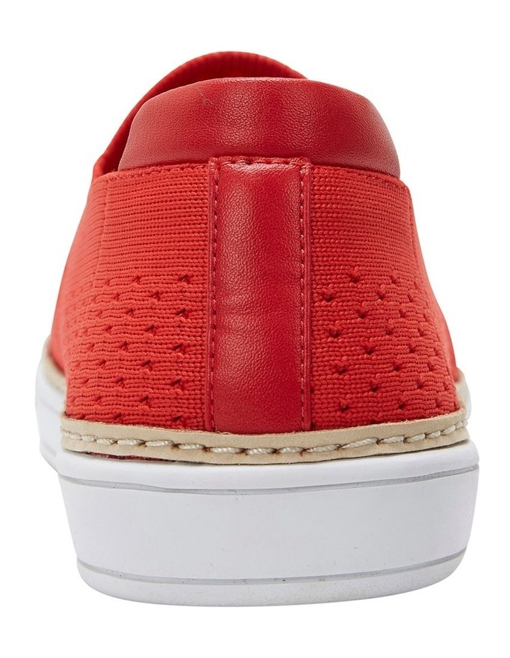 Onyx 2 Red Fabric Sneaker image 6