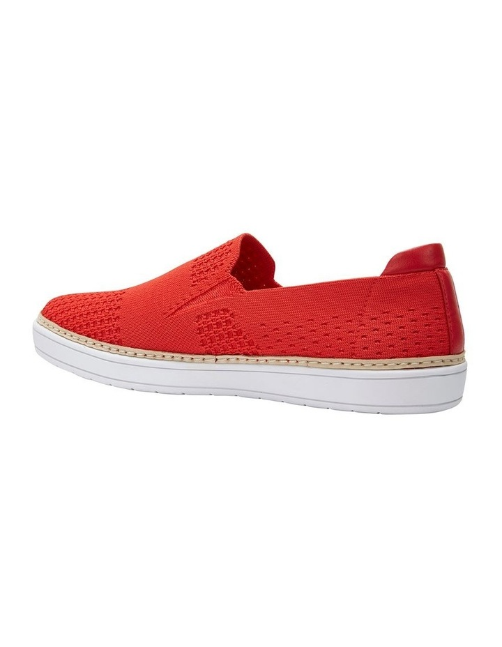 Onyx 2 Red Fabric Sneaker image 7
