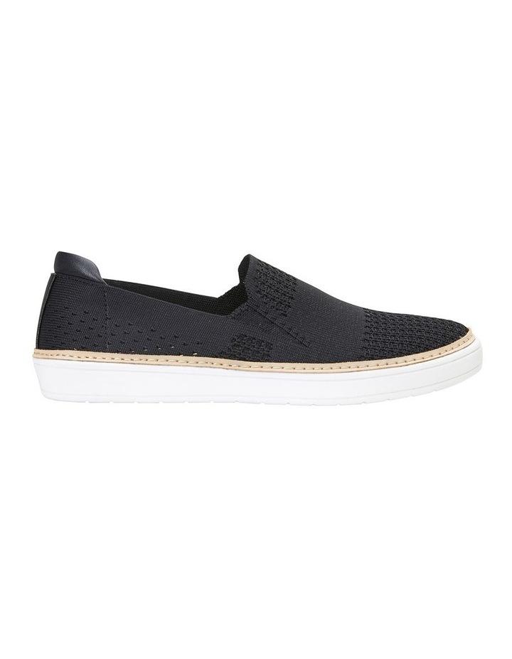 Onyx Black Fabric Sneaker image 1