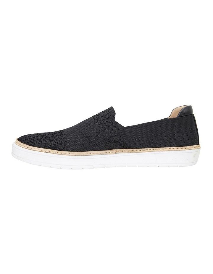 Onyx Black Fabric Sneaker image 3