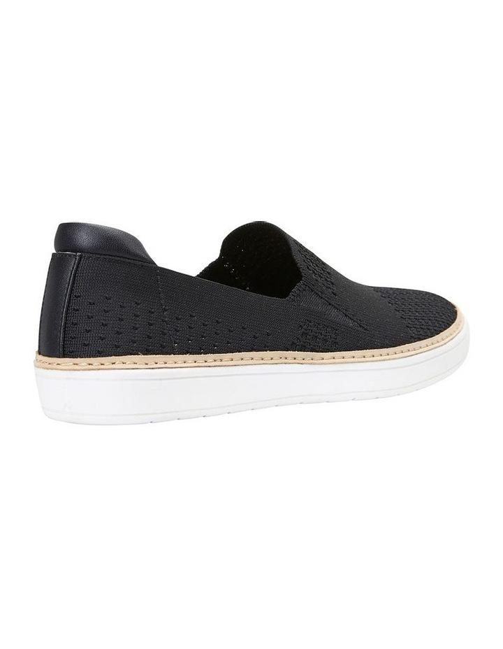 Onyx Black Fabric Sneaker image 4