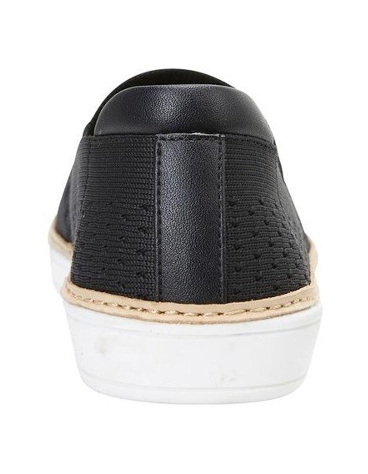 Onyx Black Fabric Sneaker image 5