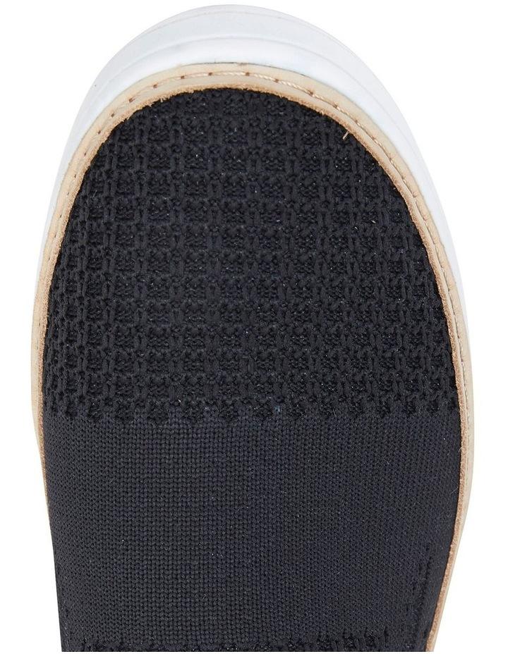 Onyx Black Fabric Sneaker image 7