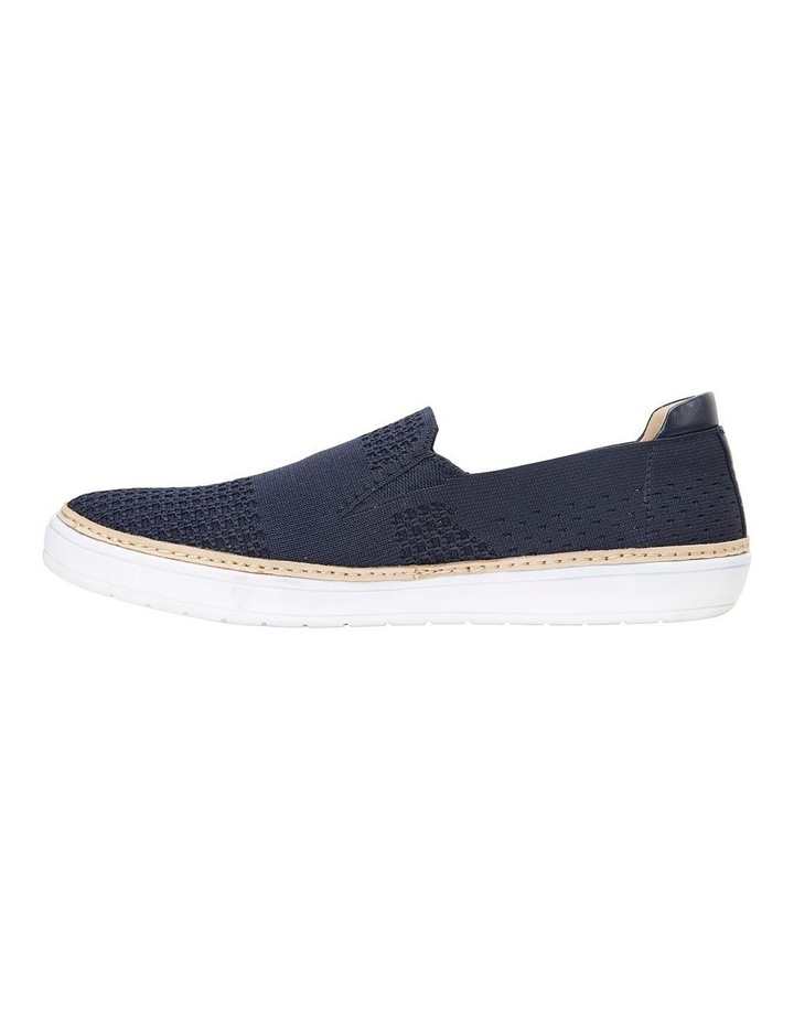 Onyx Navy Fabric Sneaker image 3