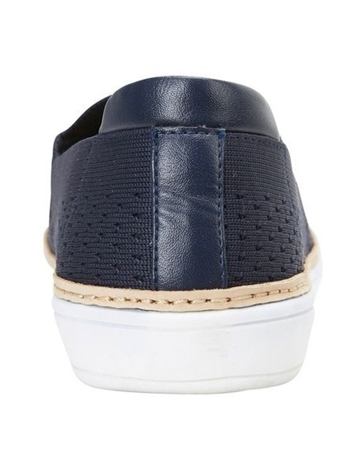 Onyx Navy Fabric Sneaker image 5