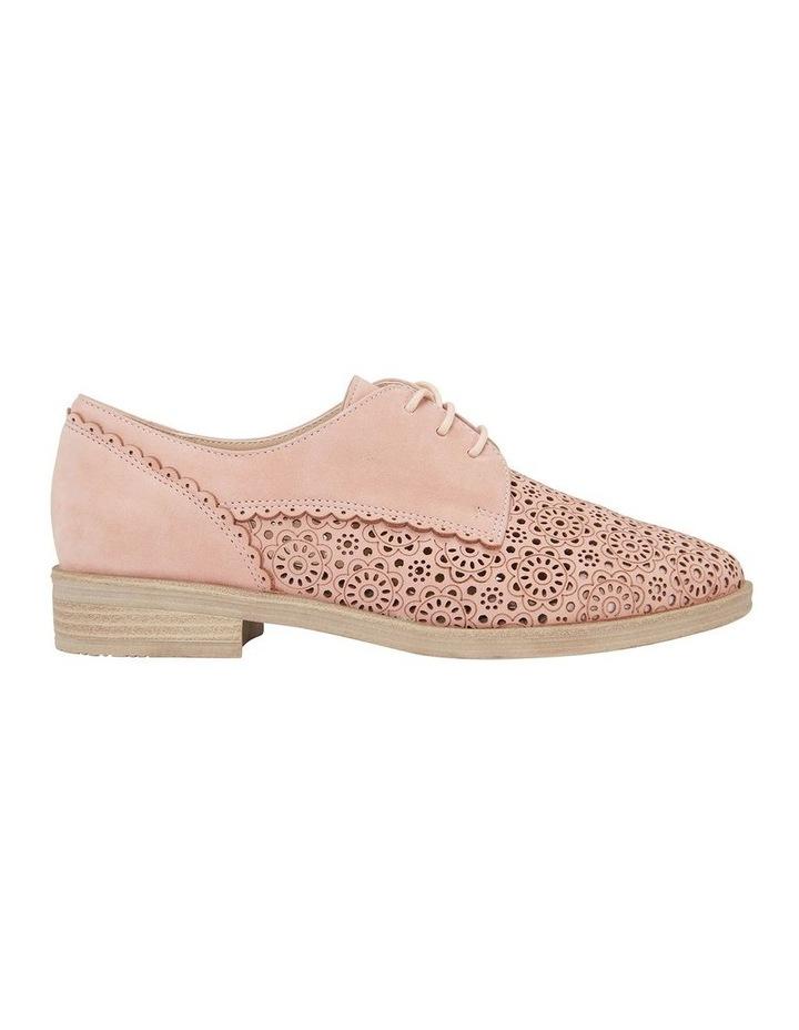 Nero Pale Pink Nubuck Flat Shoe image 1