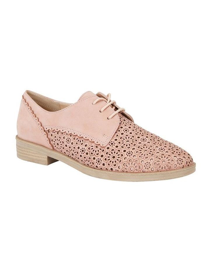 Nero Pale Pink Nubuck Flat Shoe image 2