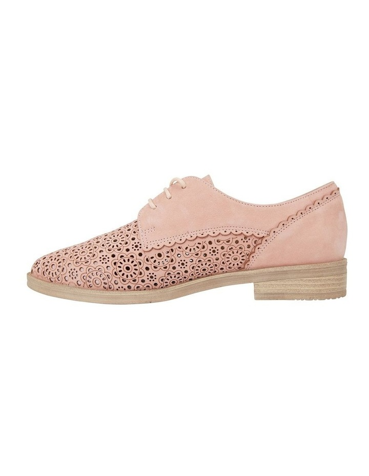 Nero Pale Pink Nubuck Flat Shoe image 3