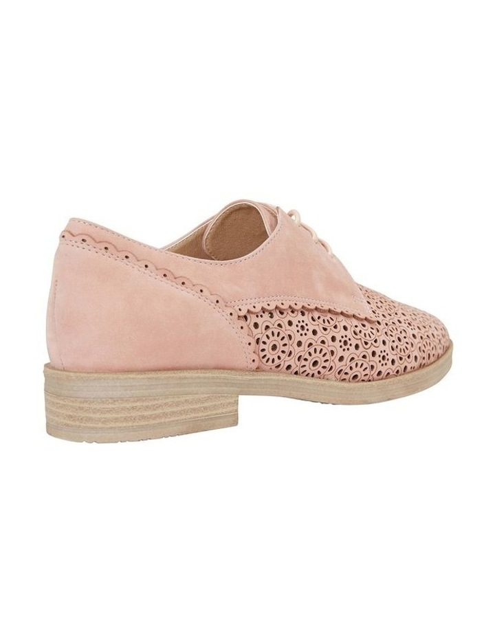 Nero Pale Pink Nubuck Flat Shoe image 4