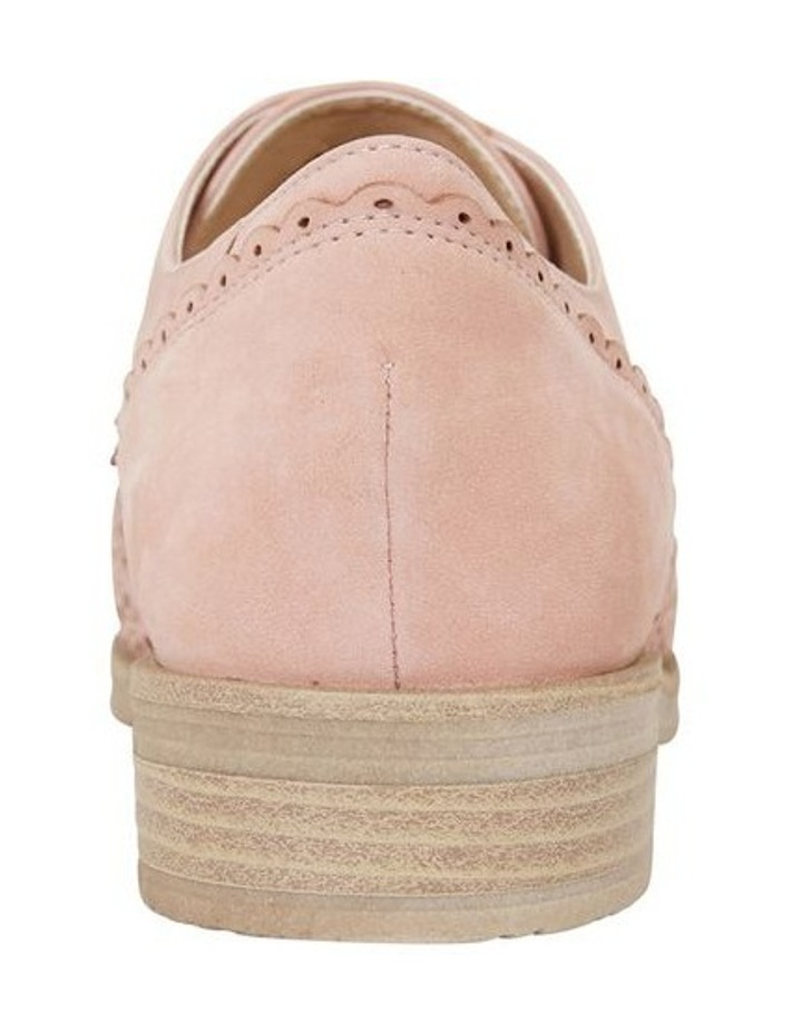 Nero Pale Pink Nubuck Flat Shoe image 5
