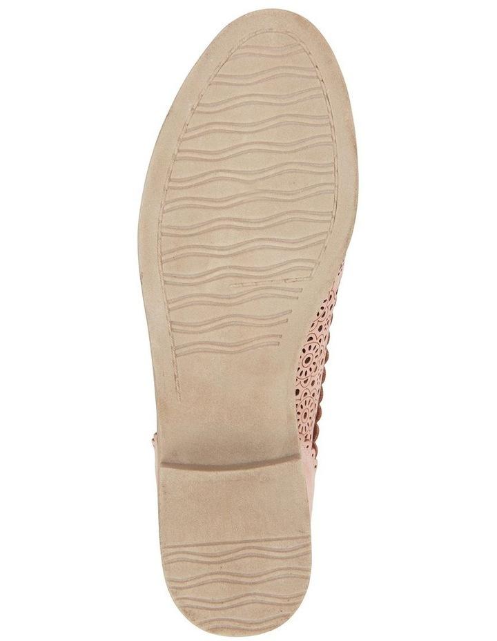 Nero Pale Pink Nubuck Flat Shoe image 6