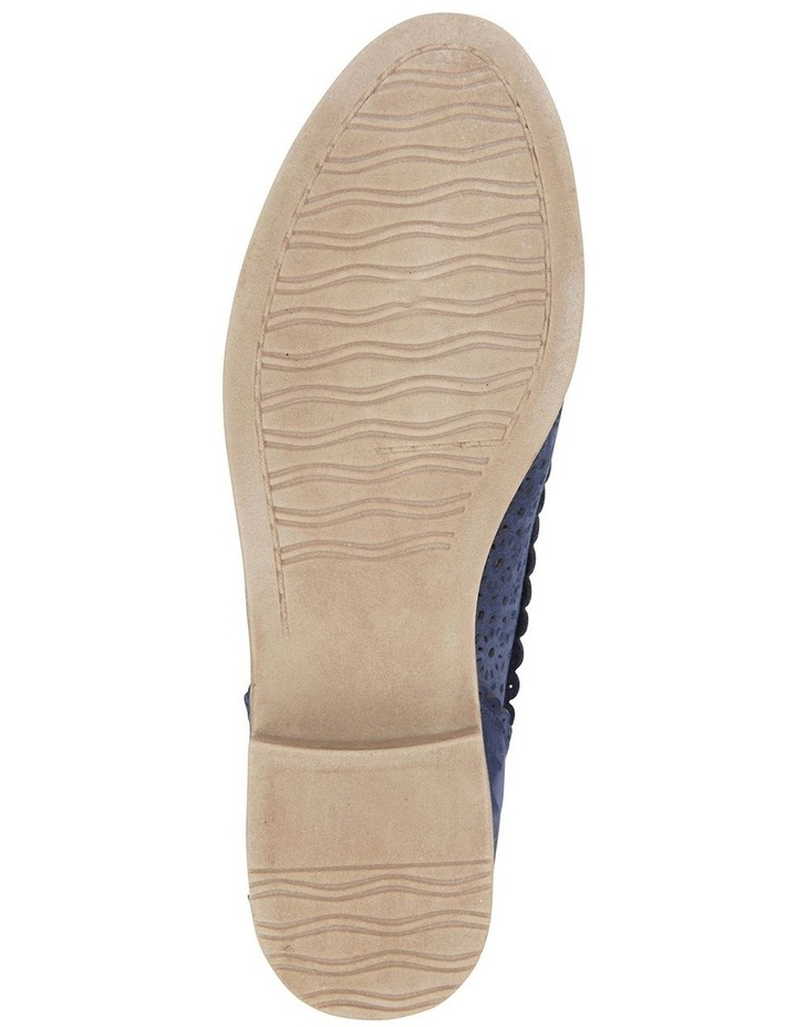 Easy Steps Nero Navy Nubuck Flat Shoe image 6