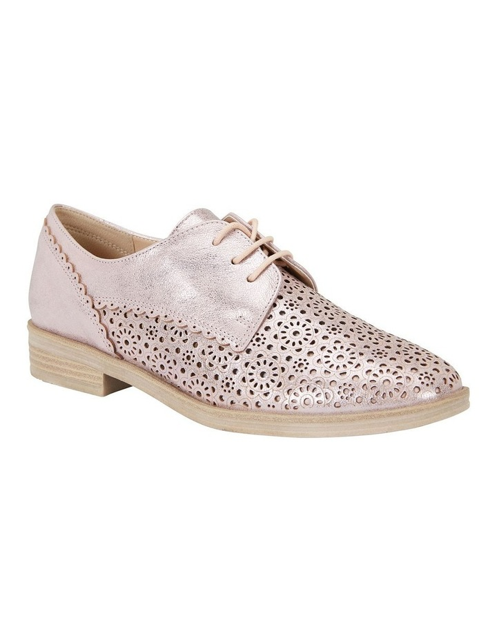 Easy Steps Nero Rose Gold Metallic Flat Shoe image 2