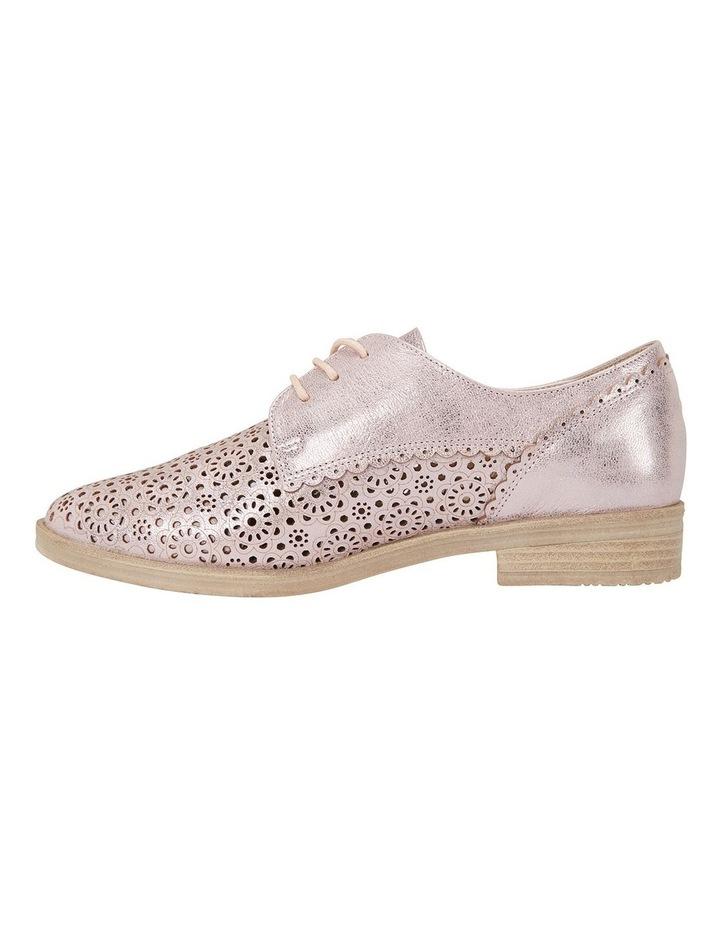 Easy Steps Nero Rose Gold Metallic Flat Shoe image 3