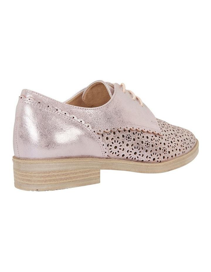 Easy Steps Nero Rose Gold Metallic Flat Shoe image 4