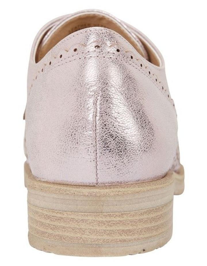 Easy Steps Nero Rose Gold Metallic Flat Shoe image 5