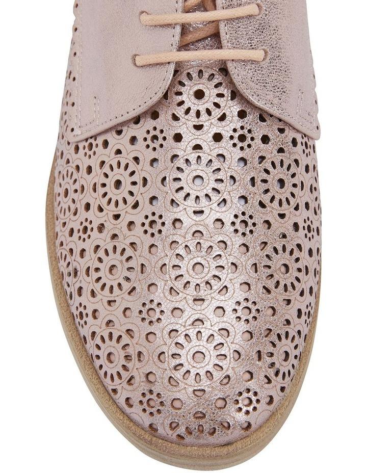 Easy Steps Nero Rose Gold Metallic Flat Shoe image 7