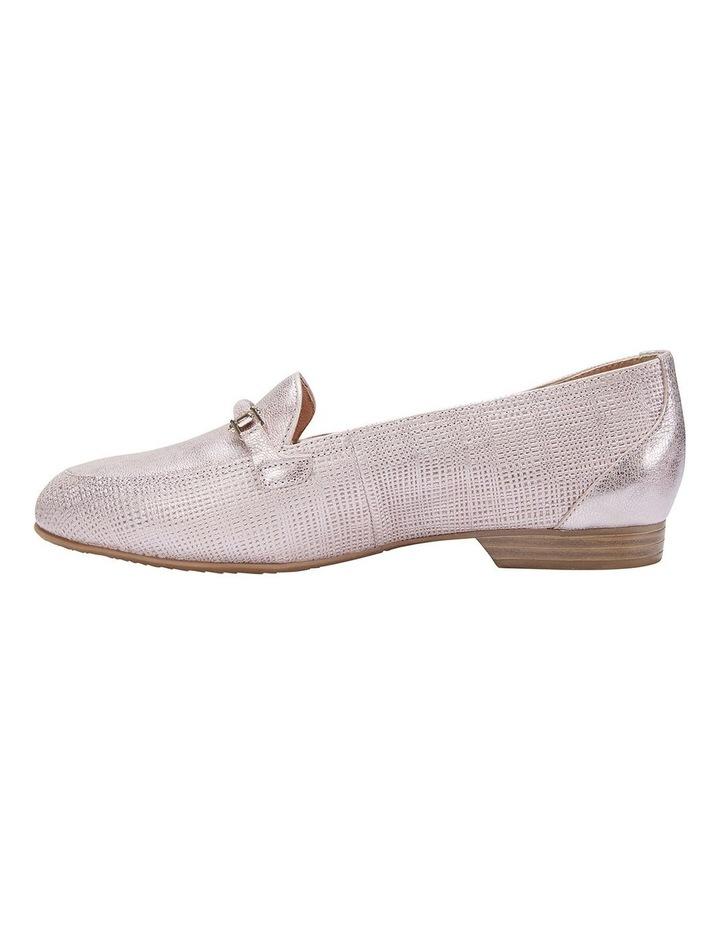 Glebe Rose Gold Frost Flat Shoe image 3