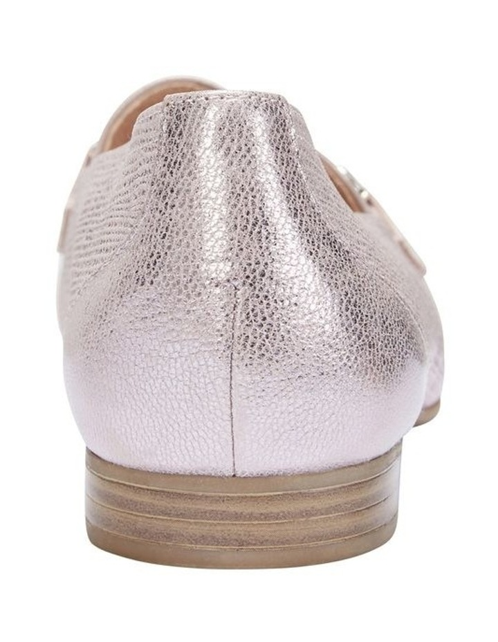 Glebe Rose Gold Frost Flat Shoe image 5
