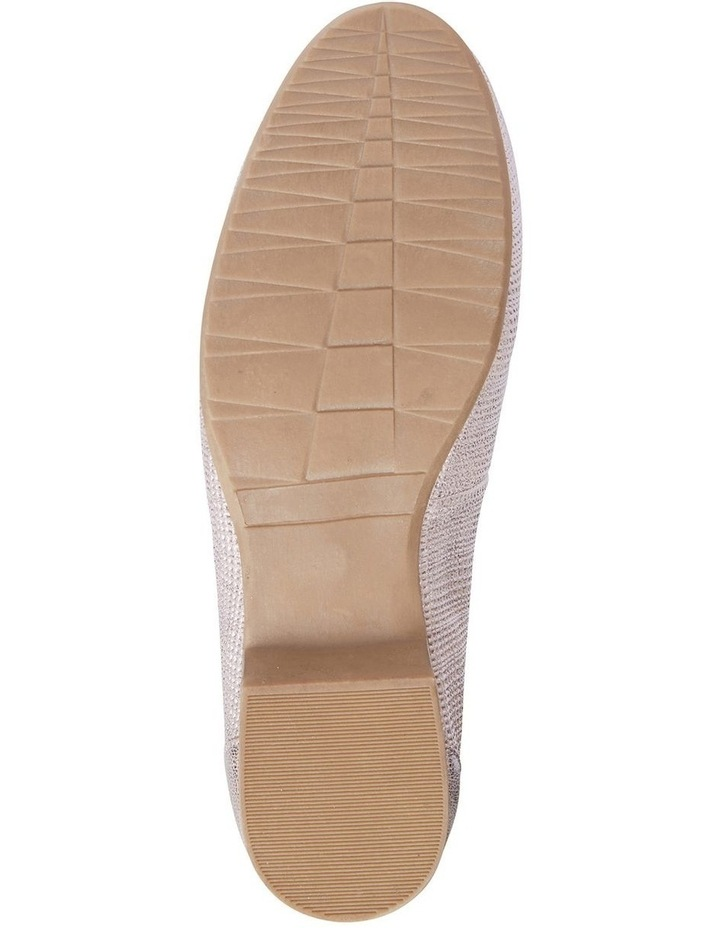 Glebe Rose Gold Frost Flat Shoe image 6