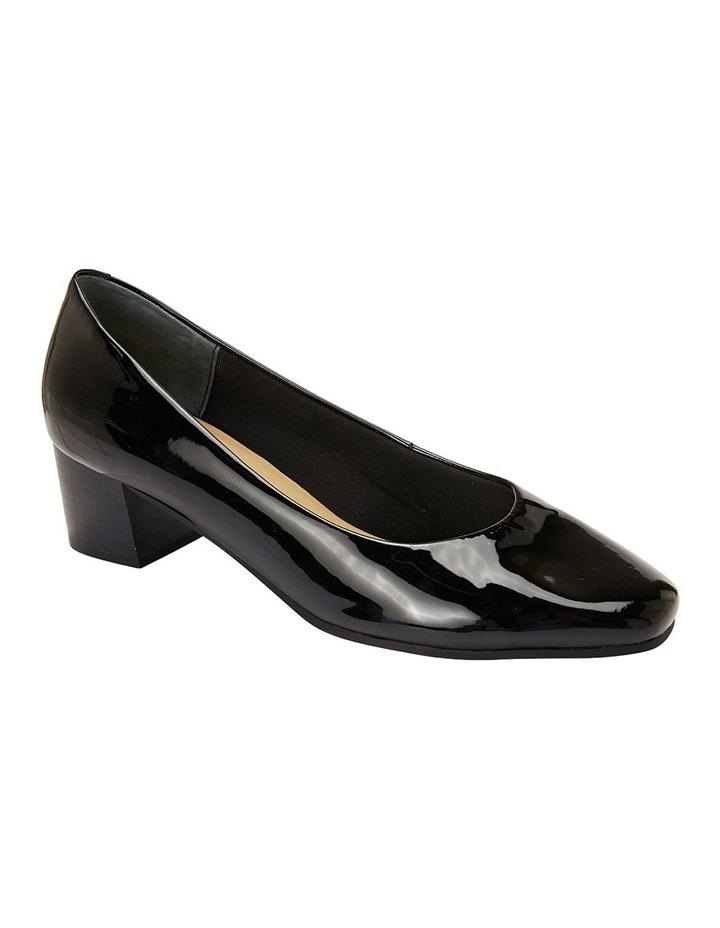 Gamma Black Patent Court Shoe image 2