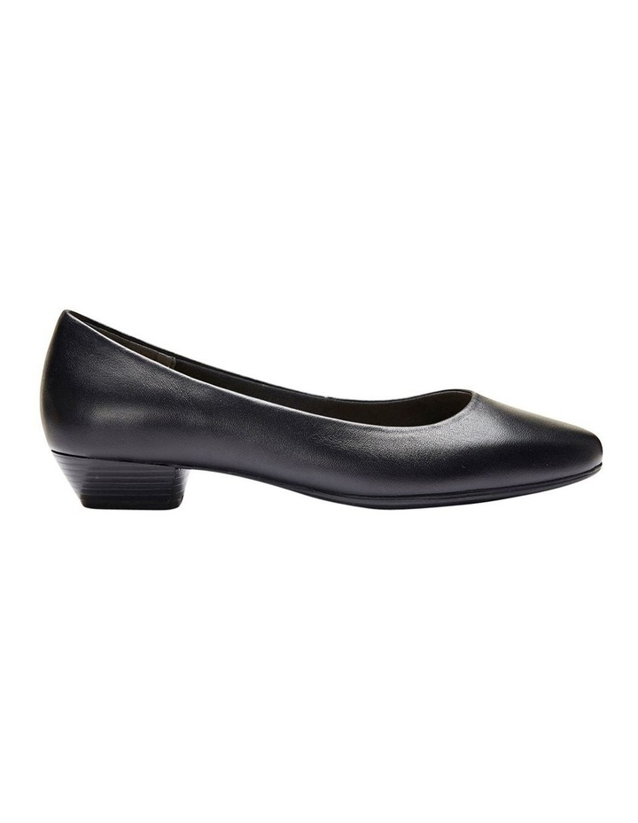 Regal Black Glove Heeled Shoes image 1