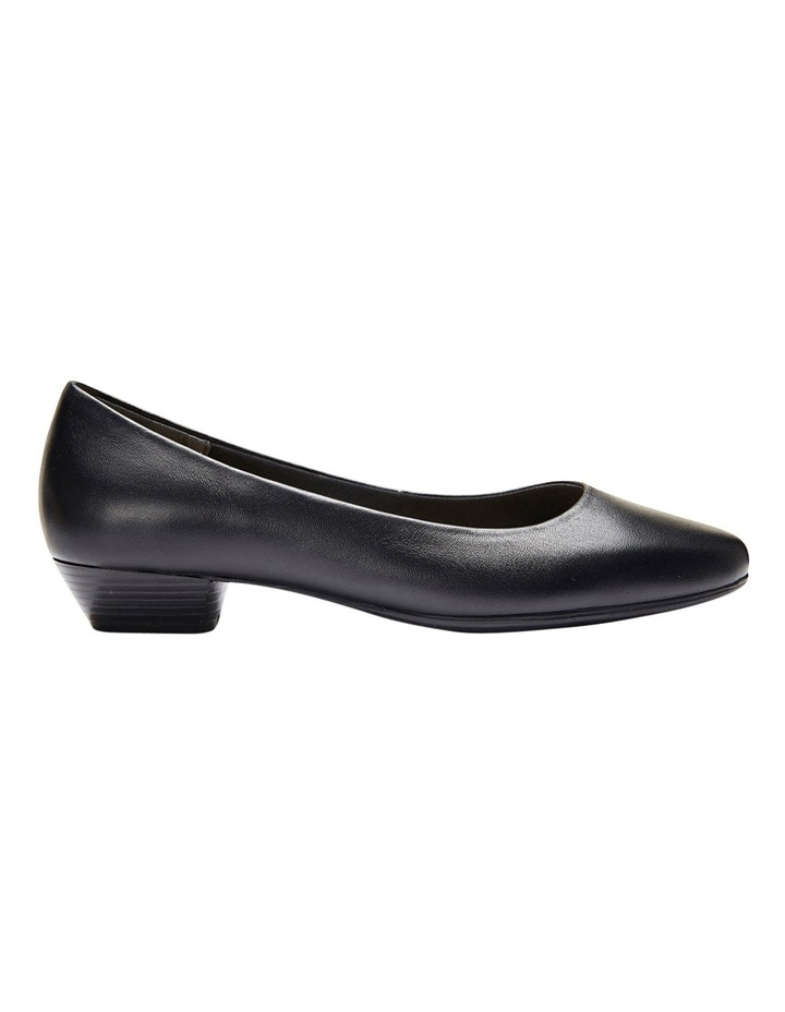 Regal Black Glove Heeled Shoes image 2