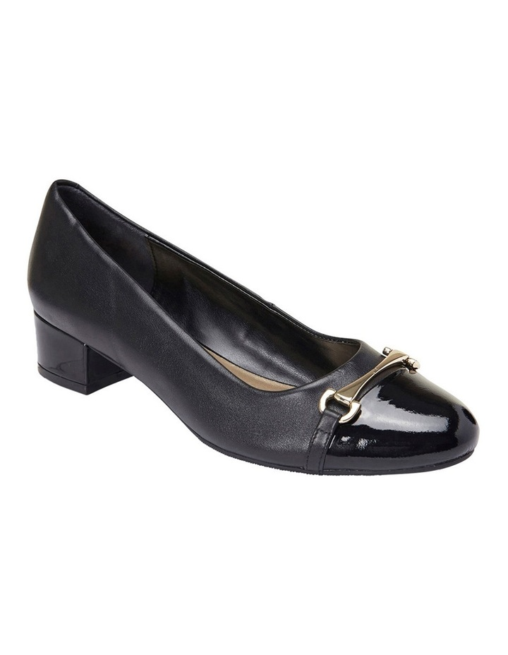 Riley Black Patent/Glove Pump image 2