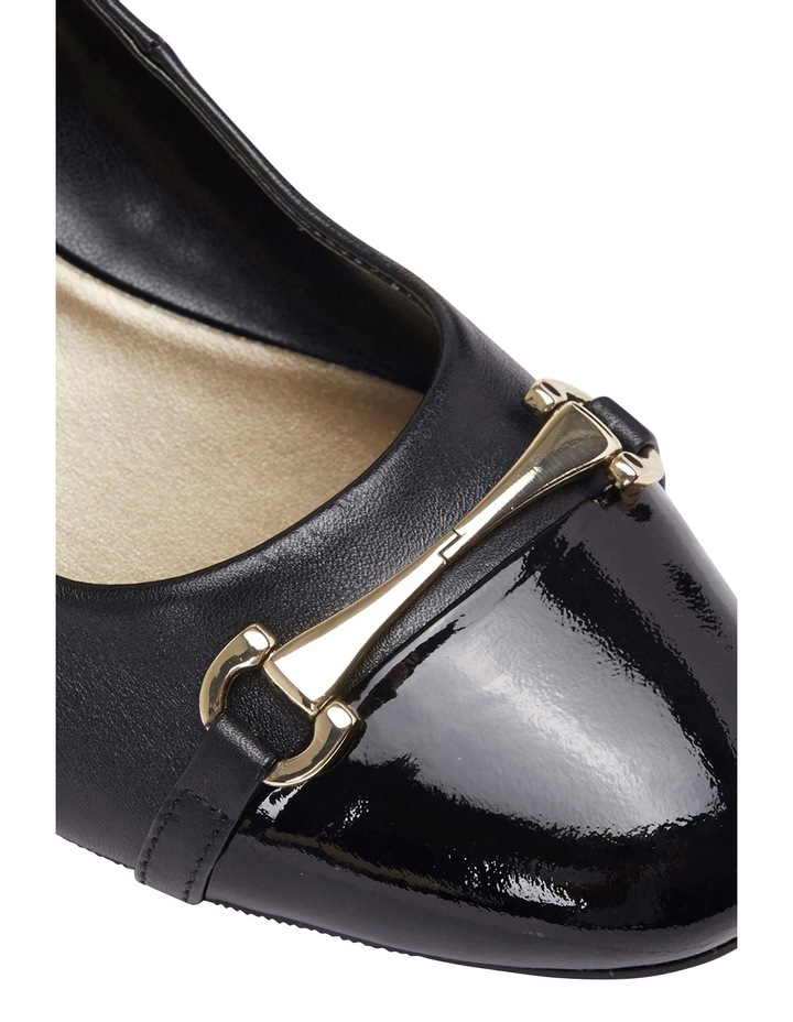 Riley Black Patent/Glove Pump image 3