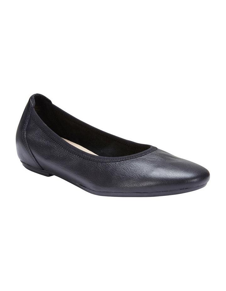 Pamper Black Glove Ballet Flat Shoes image 2