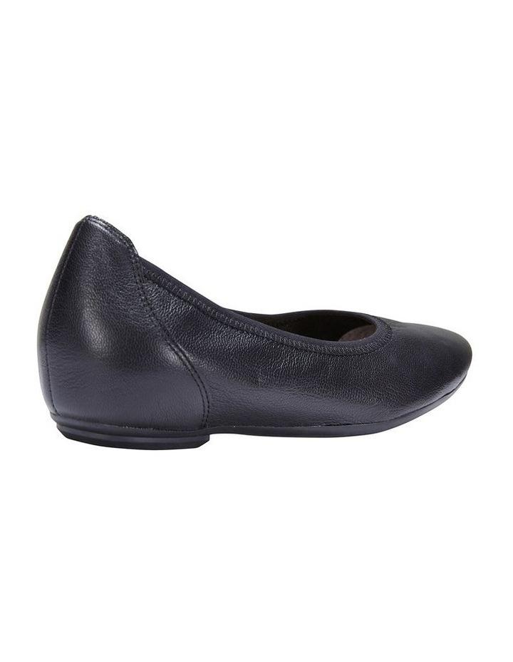 Pamper Black Glove Ballet Flat Shoes image 4