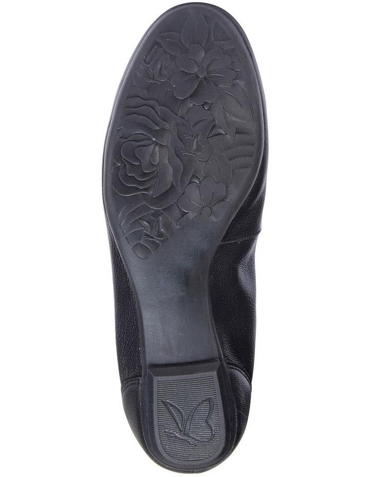 Pamper Black Glove Ballet Flat Shoes image 6