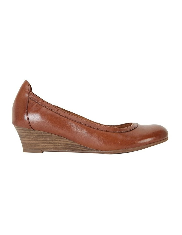 Elton Cognac Glove Heeled Shoes image 1