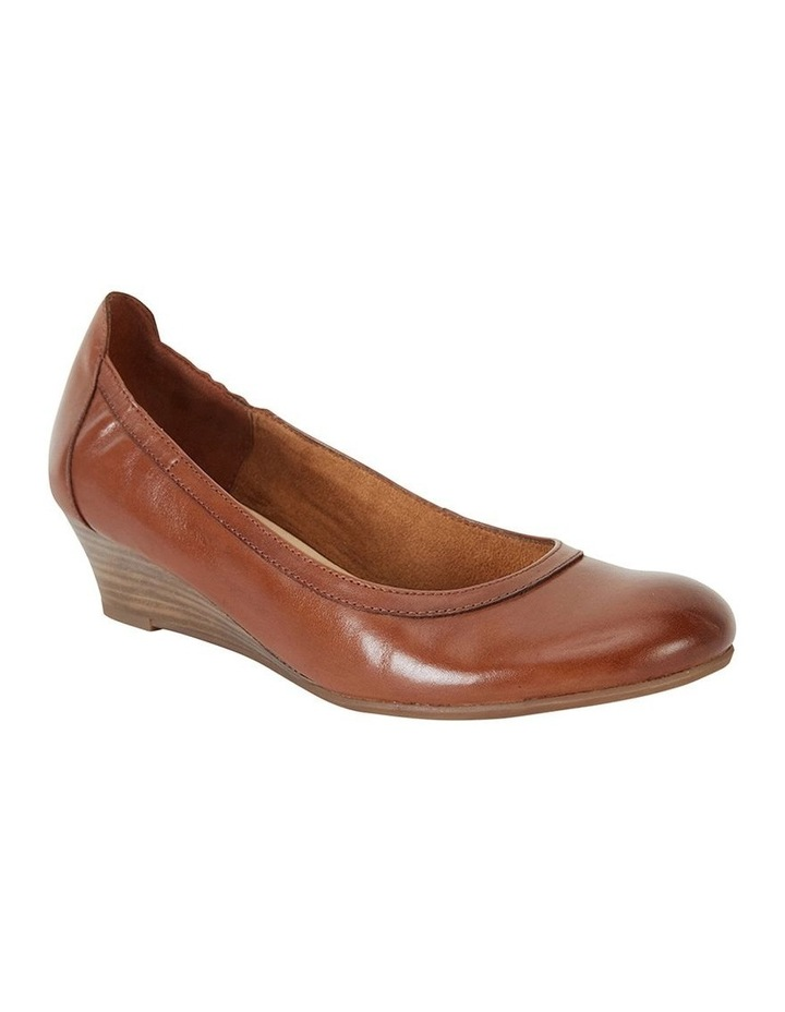 Elton Cognac Glove Heeled Shoes image 2